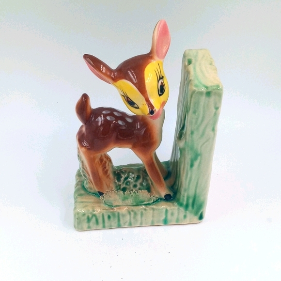 Vintage Deer Bookend
